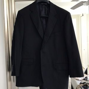 Brooks Brothers men's navy pinstripe suit
